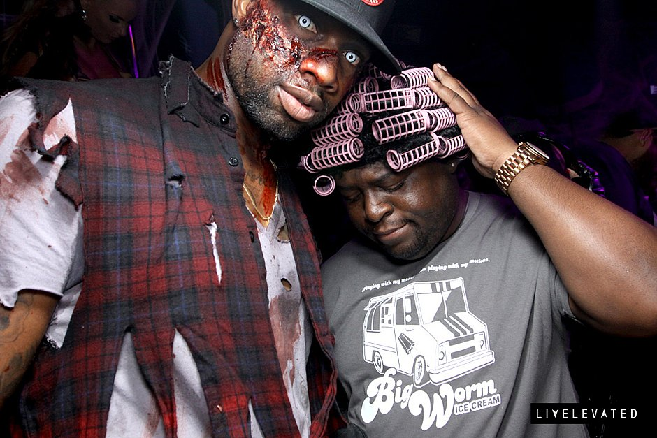 Run me my money! Big Worm enlisted help from the dead for Halloween at AV