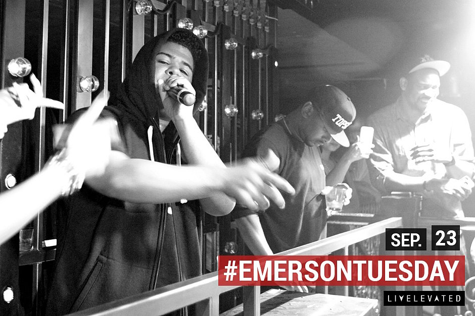 Goin' Up On A Tuesday at the Emerson Theatre
